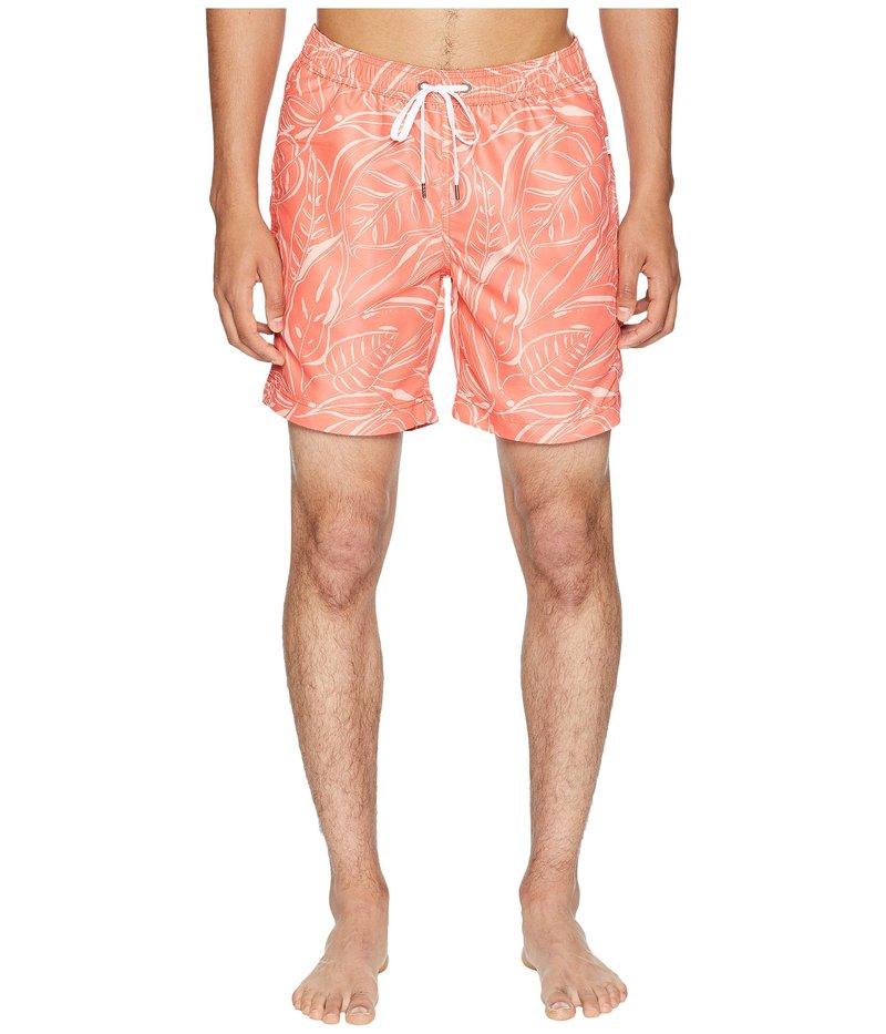 オニア メンズ ハーフパンツ・ショーツ スイムウェア Charles 7 Tangerine/Coral
