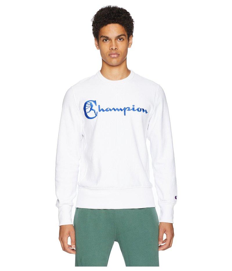 トッド・スナイダー メンズ パーカー・スウェット アウター Reverse Weave Graphic T-Shirt White