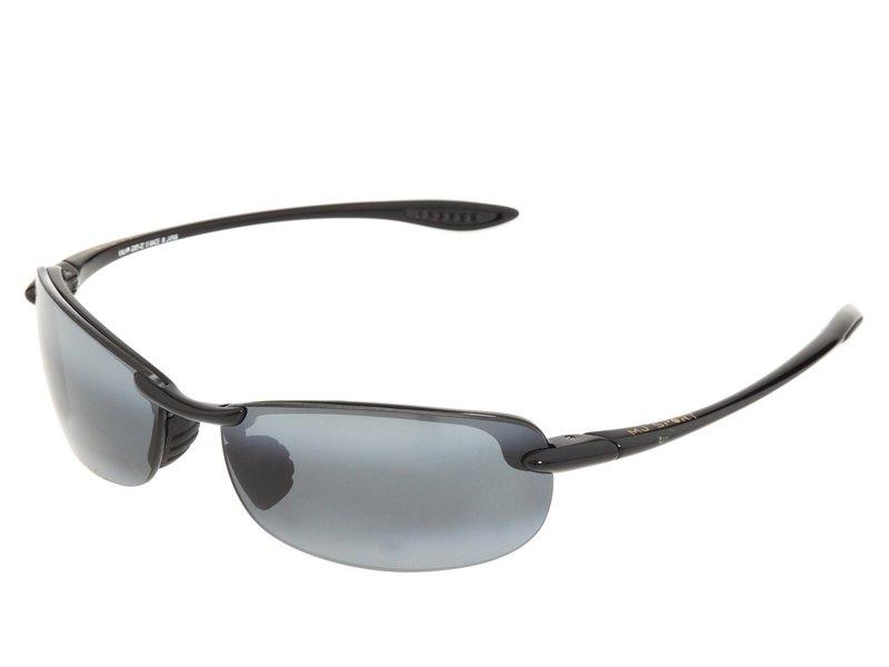 マウイジム メンズ サングラス・アイウェア アクセサリー Makaha Readers Gloss Black/Neutral Grey Lens/1.5 Lens