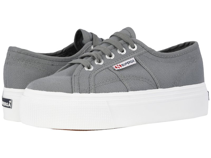 スペルガ レディース スニーカー シューズ 2790 Acotw Platform Sneaker Grey Sage