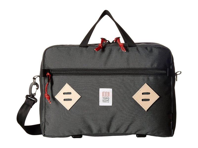 トポ・デザイン メンズ PC・モバイルギア アクセサリー Mountain Briefcase Charcoal