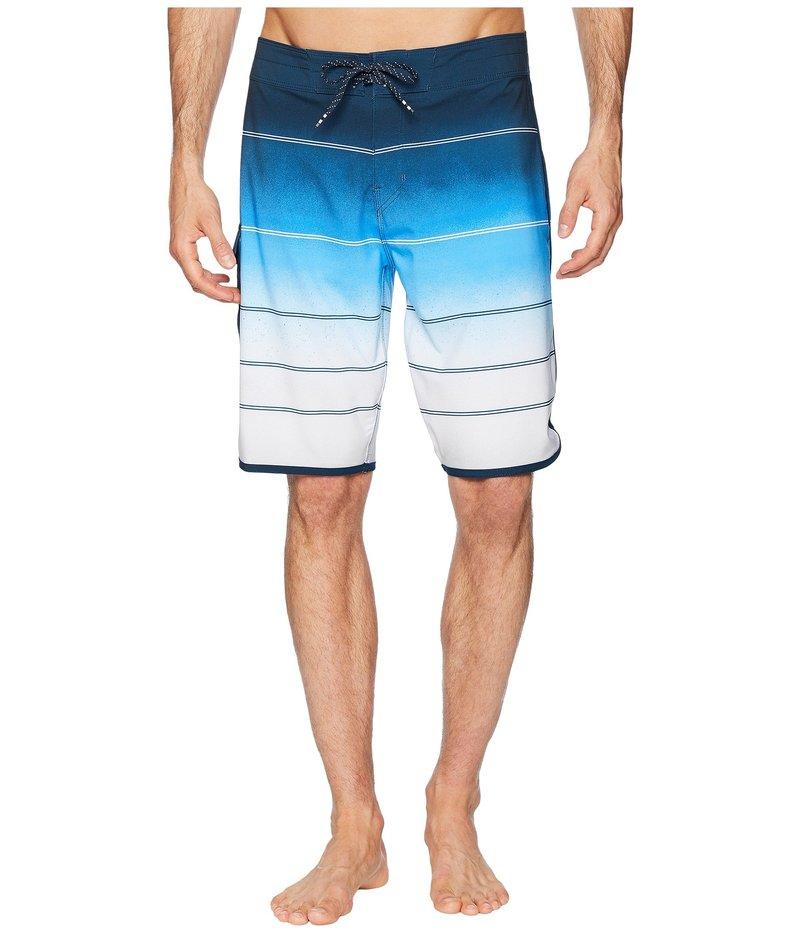 ビラボン メンズ ハーフパンツ・ショーツ スイムウェア 73 X Stripe Boardshorts Blue