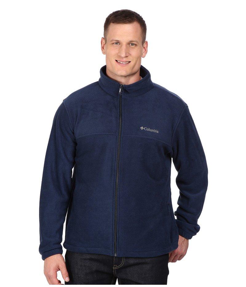コロンビア メンズ コート アウター Big & Tall Steens Mountain Full Zip 2.0 Jacket Collegiate Navy
