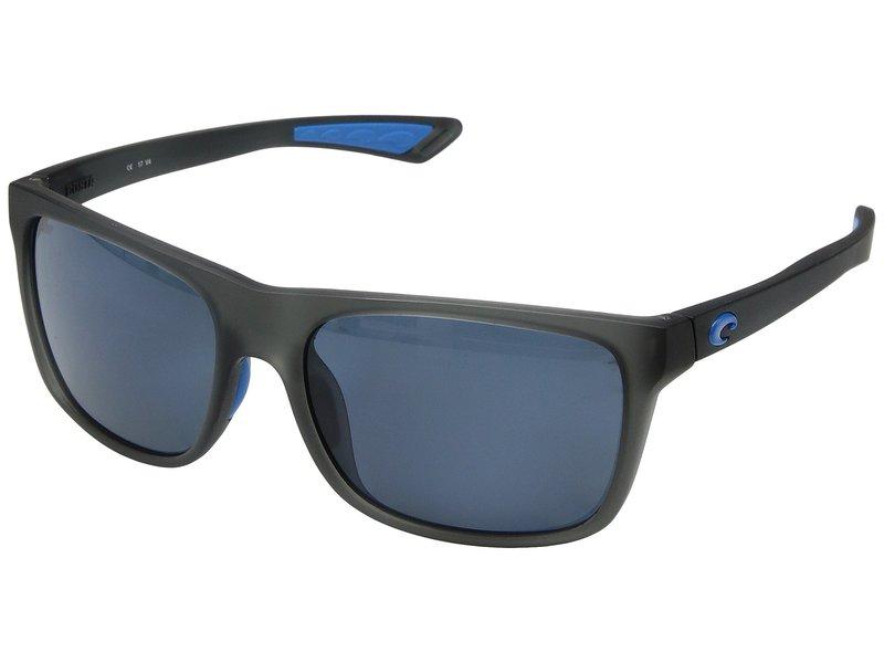 コスタ レディース サングラス・アイウェア アクセサリー Remora Matte Smoke Crystal/Blue Logo Frame/Gray 580P