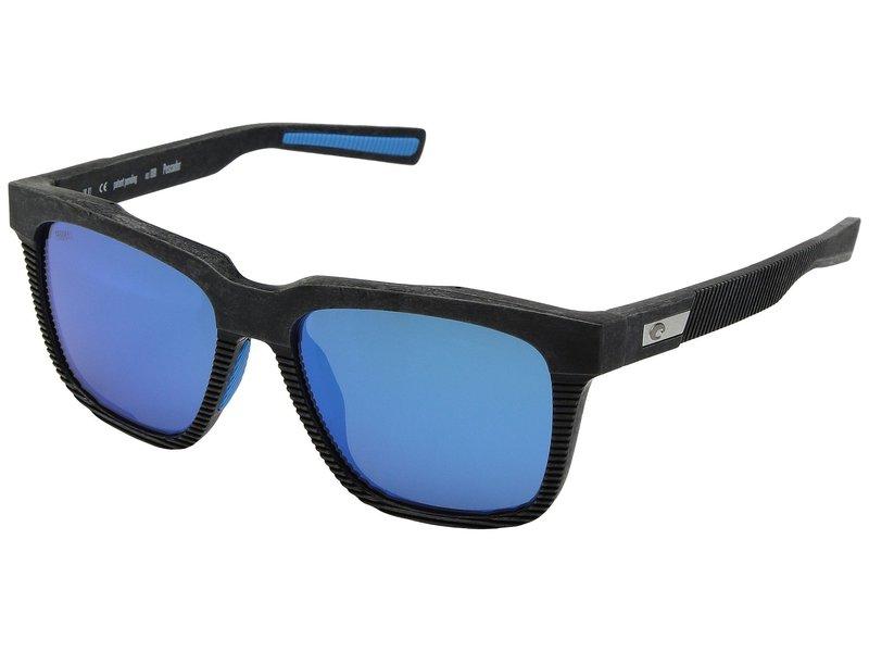 コスタ メンズ サングラス・アイウェア アクセサリー Pescador Net Gray/Blue Rubber Blue Mirror 580G