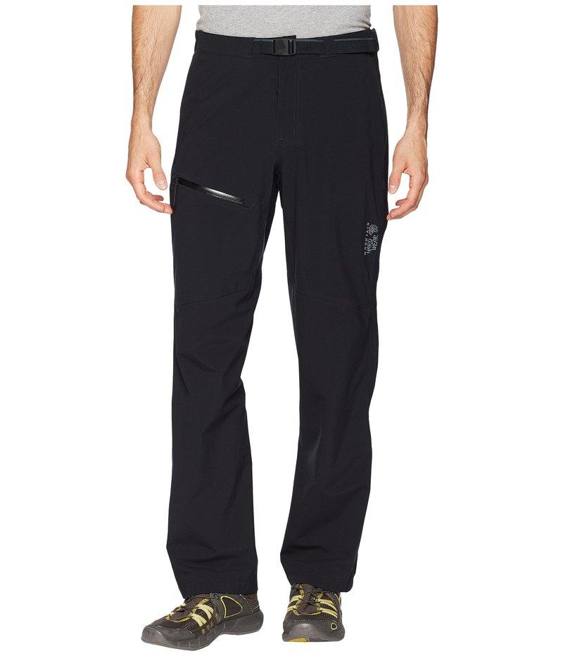 マウンテンハードウェア メンズ カジュアルパンツ ボトムス Stretch Ozonic Pant Black