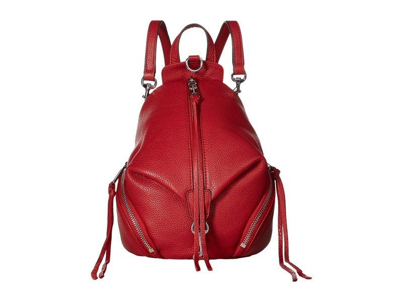 レベッカミンコフ レディース バックパック・リュックサック バッグ Convertible Mini Julian Backpack Scarlet