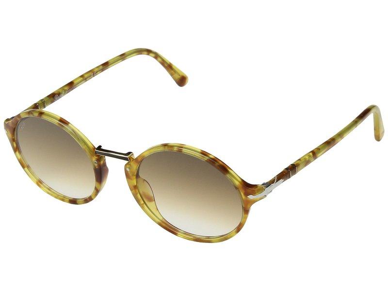 ペルソル メンズ サングラス・アイウェア アクセサリー 0PO3208S Tortoise Yellow/Clear Gradient Brown