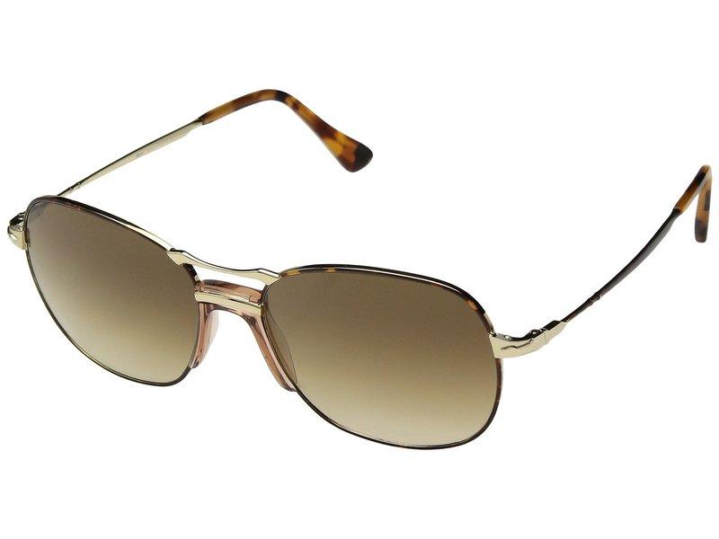 ペルソル メンズ サングラス・アイウェア アクセサリー 0PO2449S Havana Gold/Clear Gradient Brown