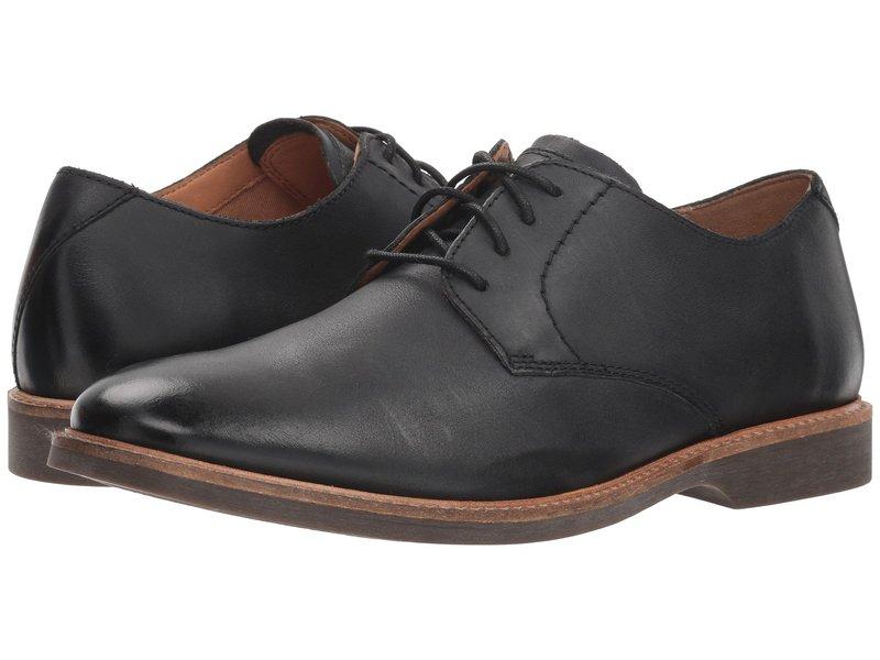 クラークス メンズ オックスフォード シューズ Atticus Lace Black Leather