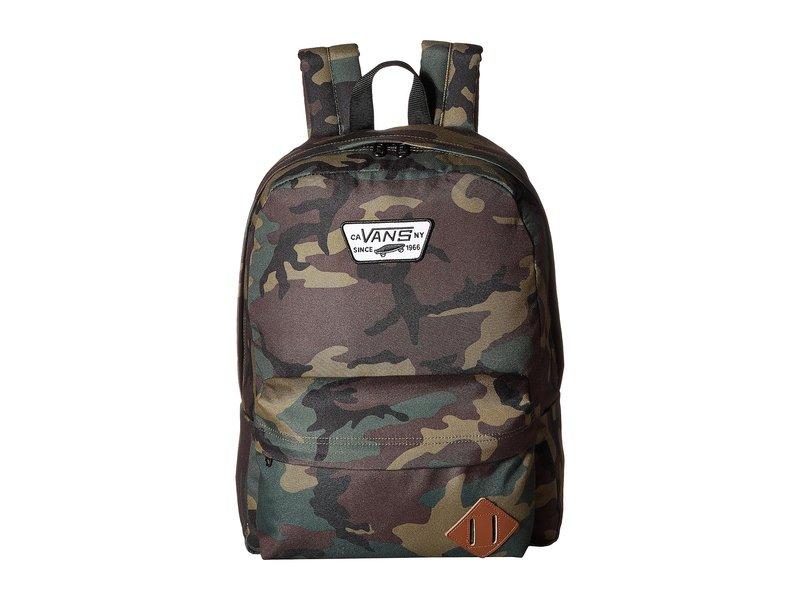 バンズ メンズ バックパック・リュックサック バッグ Old Skool II Backpack Classic Camo/Black