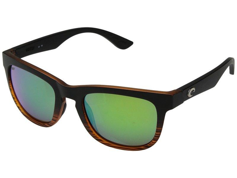 コスタ メンズ サングラス・アイウェア アクセサリー Copra Matte Coconut Fade/Green Mirror 580P