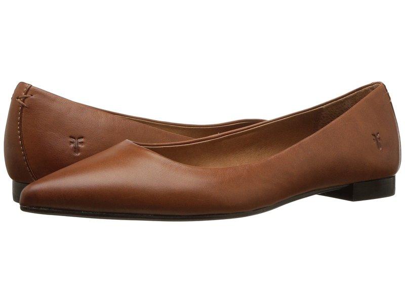 フライ レディース サンダル シューズ Sienna Ballet Saddle Polished Soft Full Grain