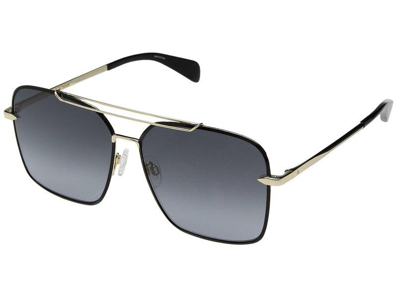 ラグアンドボーン レディース サングラス・アイウェア アクセサリー RNB1010/S Gold Black/Dark Grey Gradient
