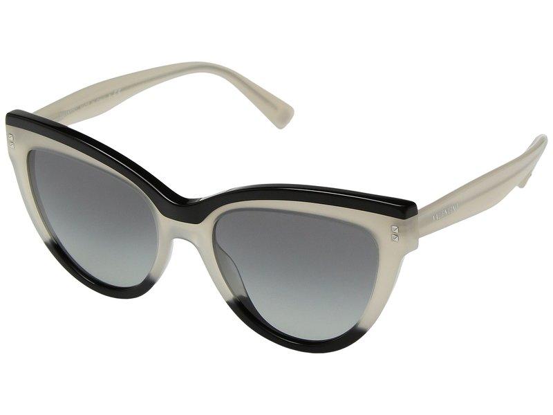 ヴァレンティノ レディース サングラス・アイウェア アクセサリー 0VA4034 Black/Ivory/Grey Gradient