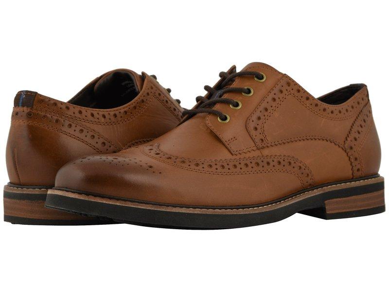 ノンブッシュ メンズ オックスフォード シューズ Oakdale Wingtip Oxford with KORE Walking Comfort Technology Tan CH