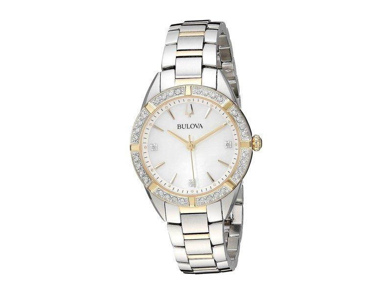 ブロバ レディース 腕時計 アクセサリー Classic Sutton - 98R263 Two-Tone Gold