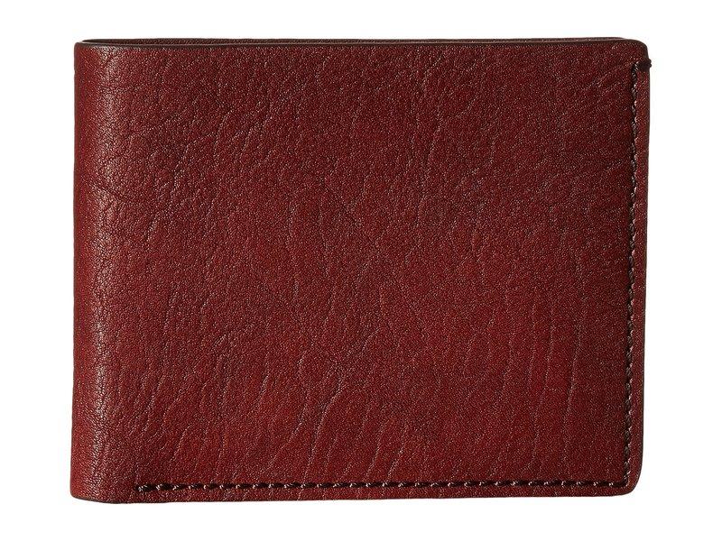 ボスカ メンズ 財布 アクセサリー Washed Collection - 8-Pocket Deluxe Executive Wallet Dark Brown