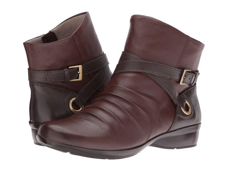 ナチュライザー レディース ブーツ・レインブーツ シューズ Cycle Bridal Brown/Oxford Brown Leather