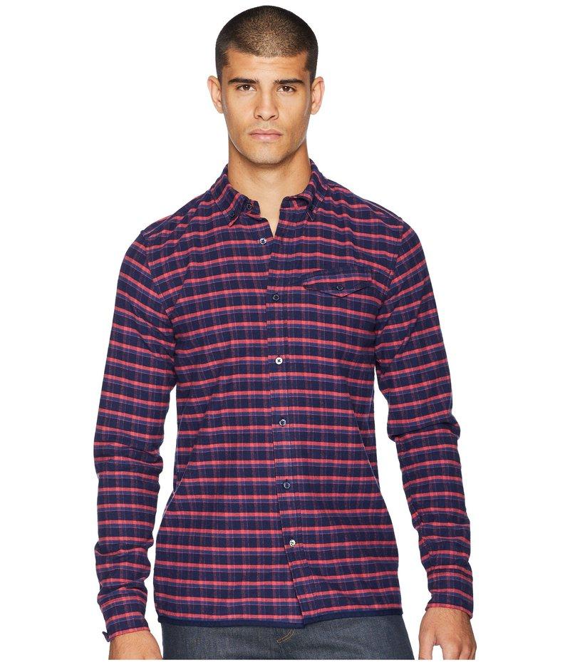 スコッチアンドソーダ メンズ シャツ トップス Ams Blauw Regular Fit Pure Indigo Shirt Combo E