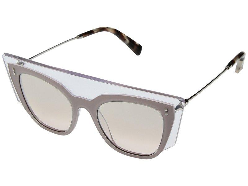 ヴァレンティノ レディース サングラス・アイウェア アクセサリー 0VA4035 Transparent Pink/Light Brown Mirror Gradient