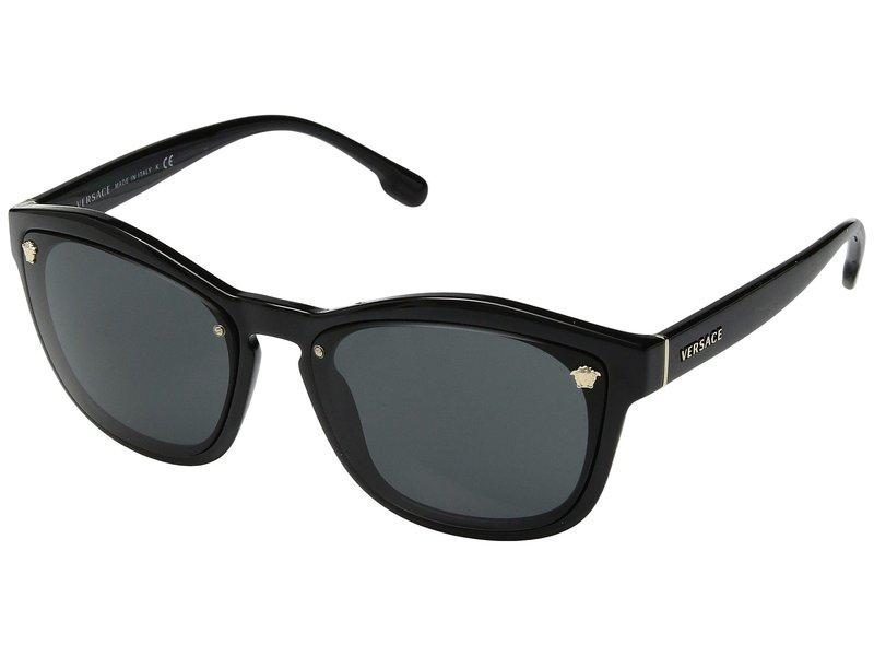 ヴェルサーチ レディース サングラス・アイウェア アクセサリー VE4350 Black/Grey