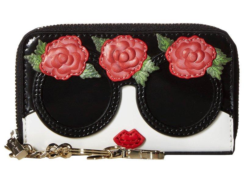 アリス アンド オリビア レディース 財布 アクセサリー Avril Stace Face Flowers Small Wallet Multi