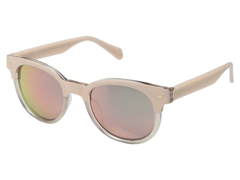 フォッシル レディース サングラス・アイウェア アクセサリー FOS 3072/S Pink Crystal/Grey/Rose Gold