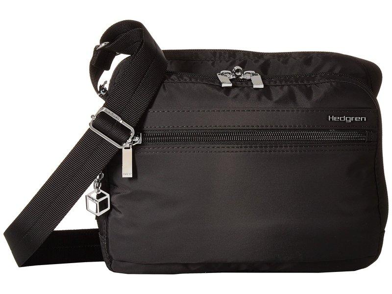 ヘドグレン レディース ハンドバッグ バッグ Metro RFID Shoulder Bag Black