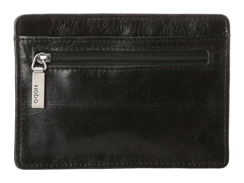 ホボ レディース 財布 アクセサリー Euro Slide Black Vintage Leather