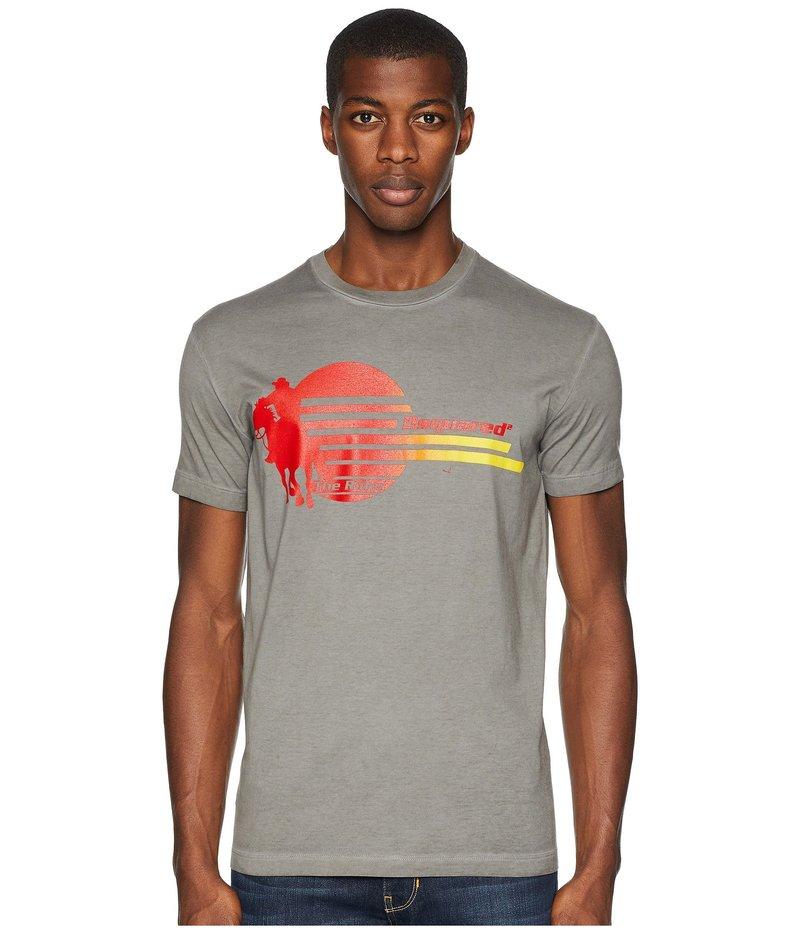 ディースクエアード メンズ シャツ トップス Clean Slide T-Shirt Light Grey