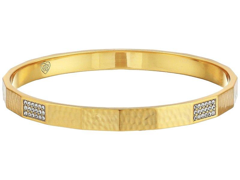 ブライトン レディース ブレスレット・バングル・アンクレット アクセサリー Meridian Zenith Faceted Bangle Gold