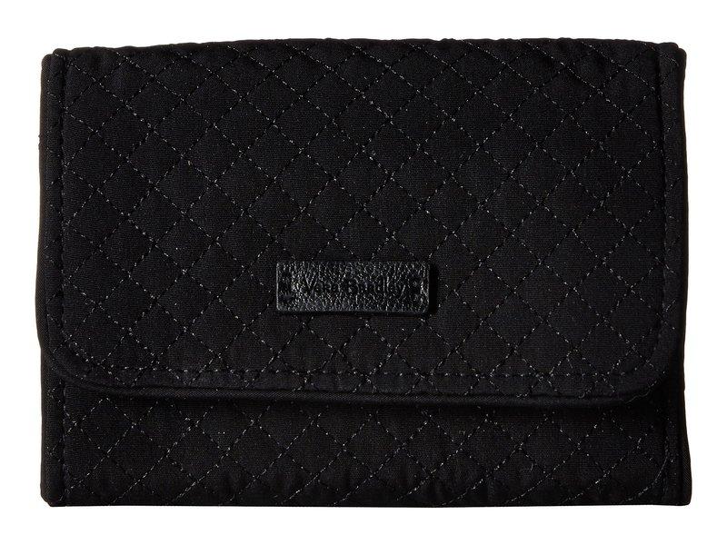 ベラブラッドリー レディース 財布 アクセサリー Iconic RFID Riley Compact Wallet Classic Black