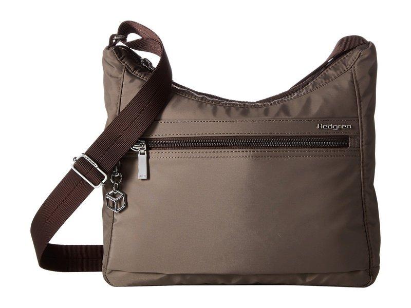 ヘドグレン レディース ハンドバッグ バッグ Harper's RFID Shoulder Bag Sepia/Brown