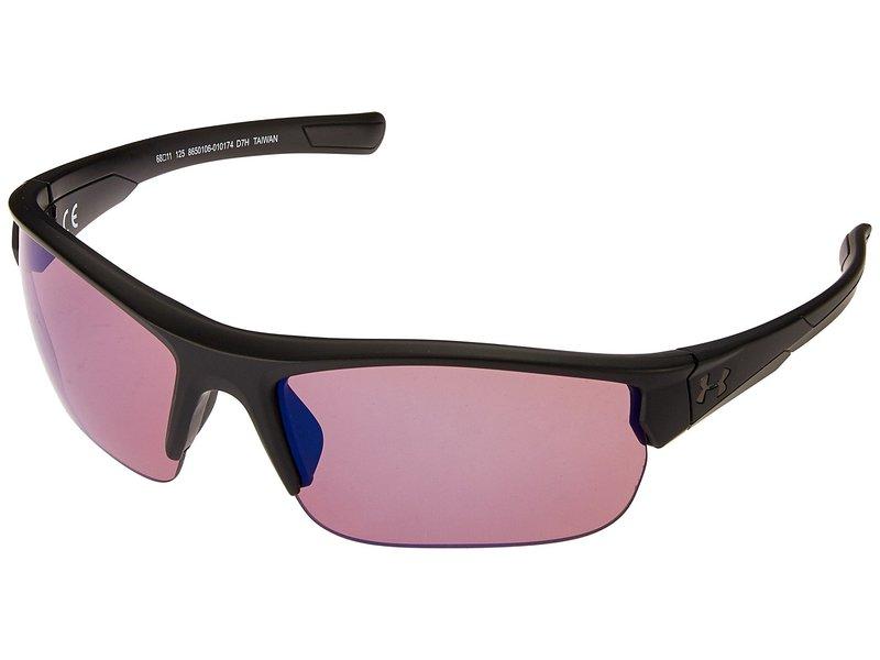 アンダーアーマー メンズ サングラス・アイウェア アクセサリー UA Propel Satin Black/Black/Golf