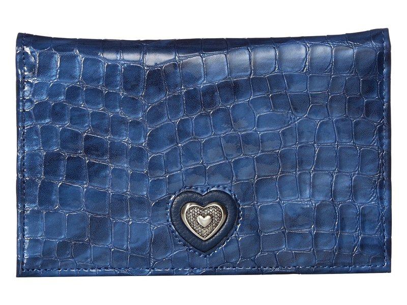 ブライトン レディース 財布 アクセサリー Bellissimo Heart Folio Wallet French Blue