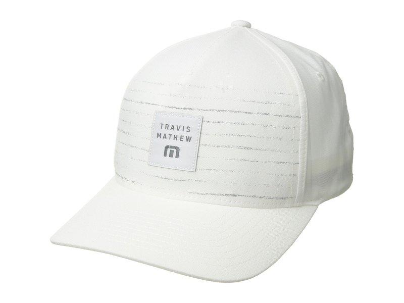 トラビスマヒュー メンズ 帽子 アクセサリー Edmiston White