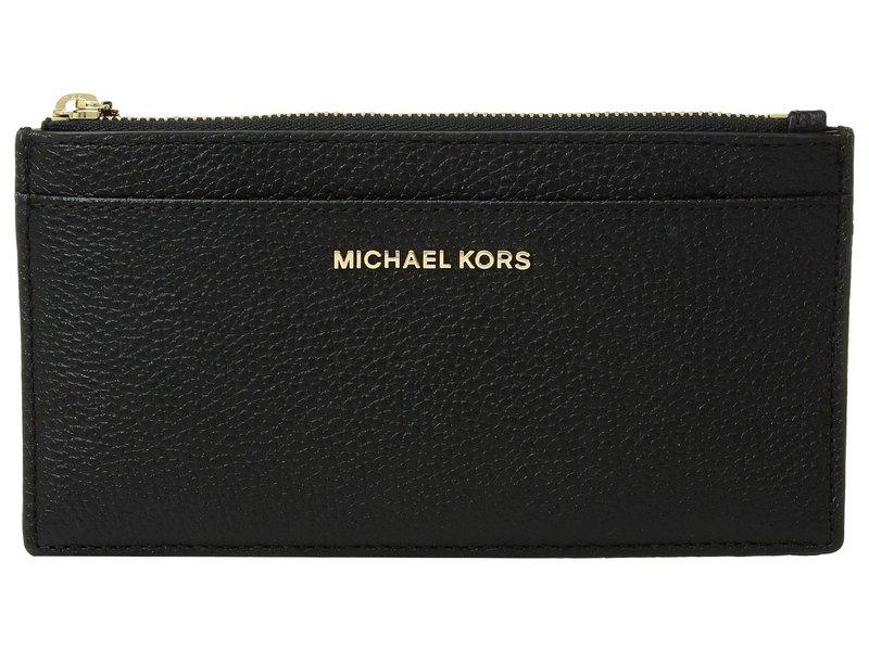 マイケルコース レディース 財布 アクセサリー Large Slim Card Case Black