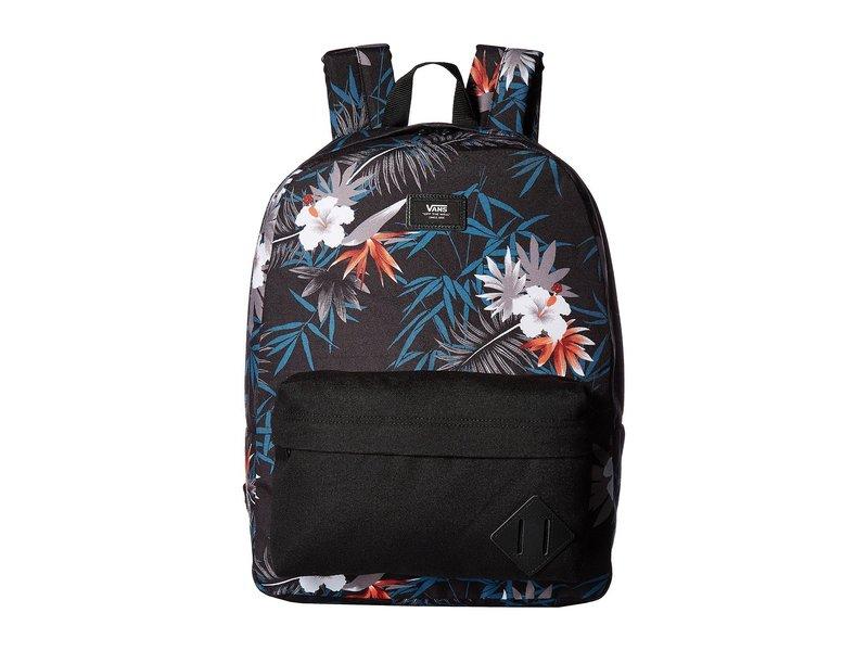 バンズ メンズ バックパック・リュックサック バッグ Old Skool II Backpack Peace Out Floral
