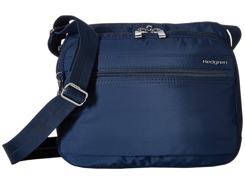 ヘドグレン レディース ハンドバッグ バッグ Metro RFID Shoulder Bag Dress Blue