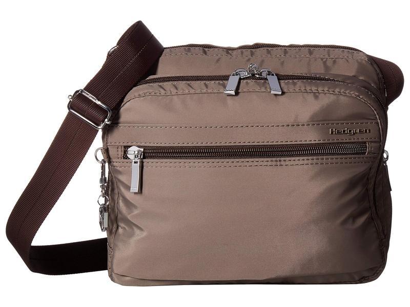 ヘドグレン レディース ハンドバッグ バッグ Metro RFID Shoulder Bag Sepia/Brown