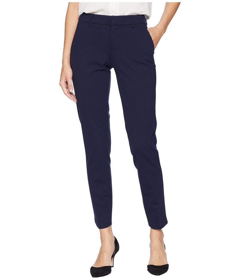 リバプール レディース カジュアルパンツ ボトムス Kelsey Slim Leg Trousers in Super Stretch Ponte Knit Cadet Blue