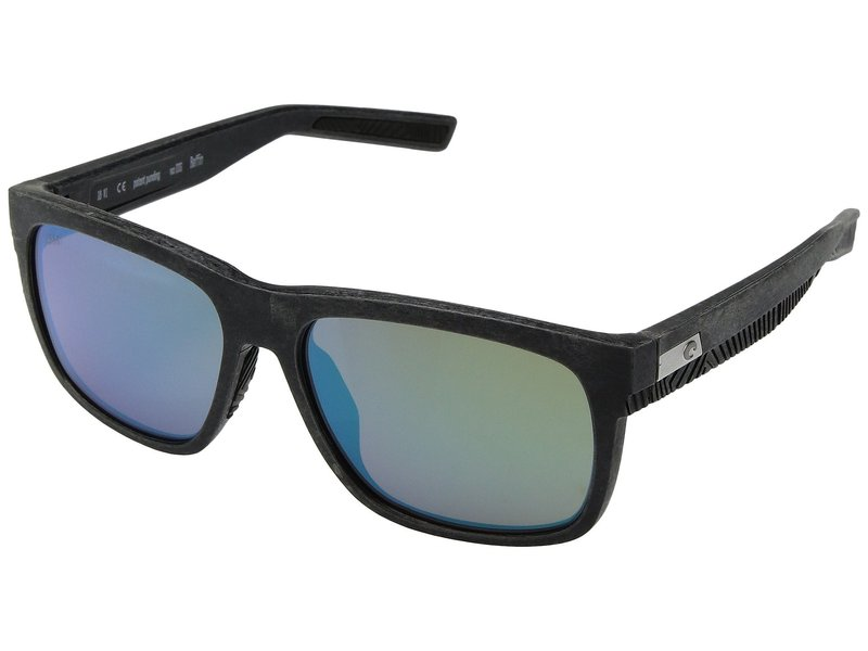 コスタ メンズ サングラス・アイウェア アクセサリー Baffin Net Gray/Black Rubber Green Mirror 580G