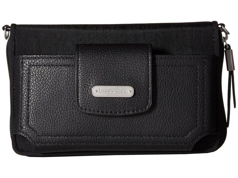 バッガリーニ レディース ハンドバッグ バッグ New Classic RFID Phone Wallet Crossbody Black
