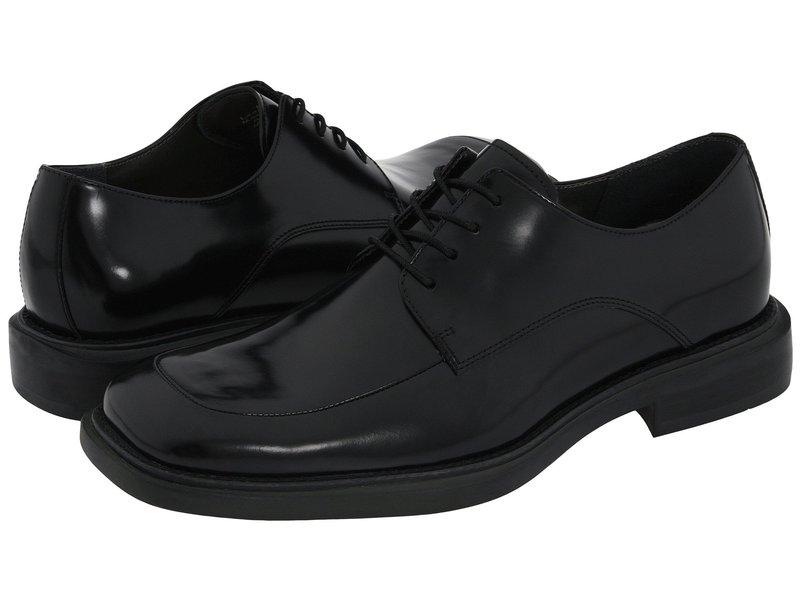 ケネスコール メンズ オックスフォード シューズ Merge Black Leather