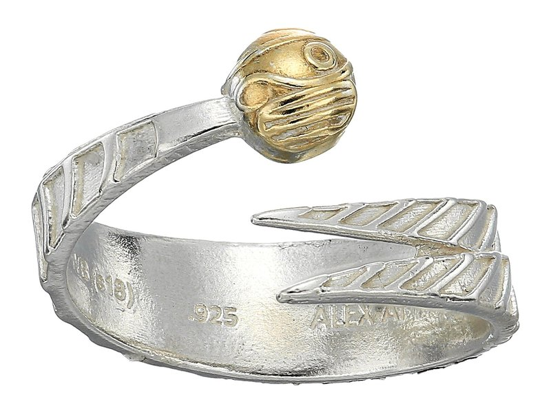 アレックスアンドアニ レディース リング アクセサリー Harry Potter Golden Snitch Two-Tone Ring Wrap 14kt Gold Plated/Sterling Silver