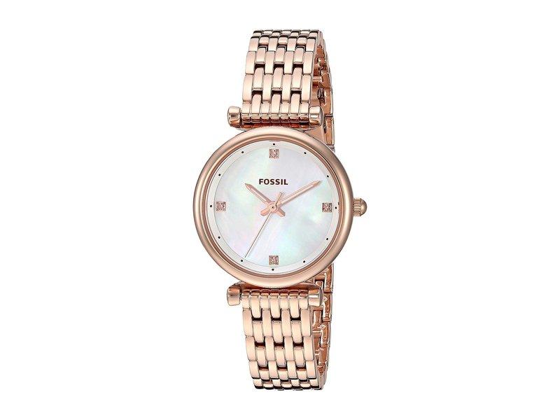 フォッシル レディース 腕時計 アクセサリー Carlie - ES4429 Rose Gold
