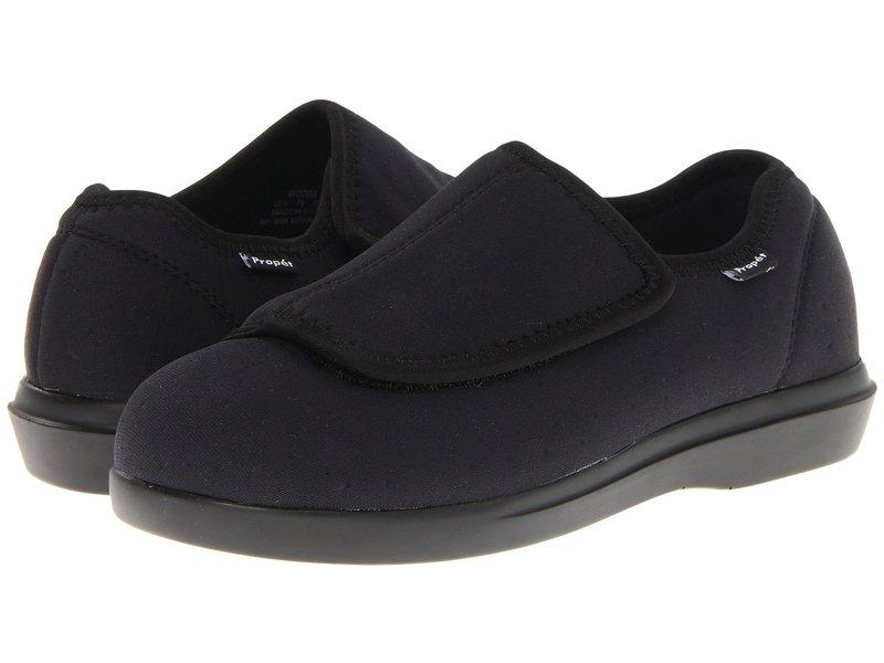 プロペット レディース サンダル シューズ Cush 'n Foot Medicare/HCPCS Code = A5500 Diabetic Shoe Black