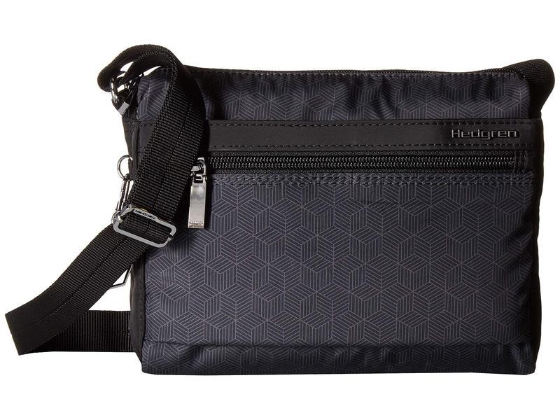 ヘドグレン レディース ハンドバッグ バッグ Harper's RFID Shoulder Bag Titanium