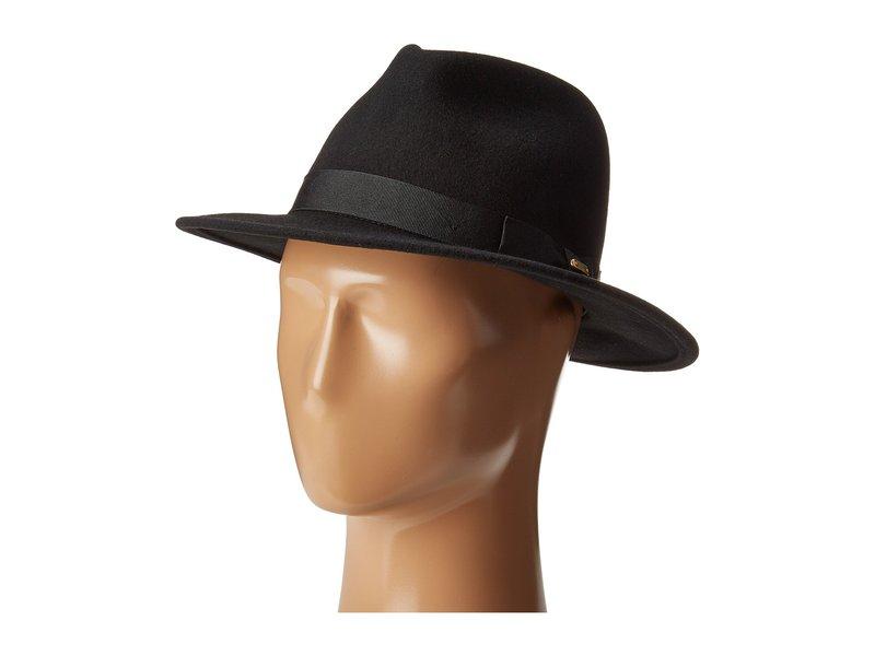 サンディエゴハット レディース 帽子 アクセサリー WFH8039 Felt Fedora Hat Black